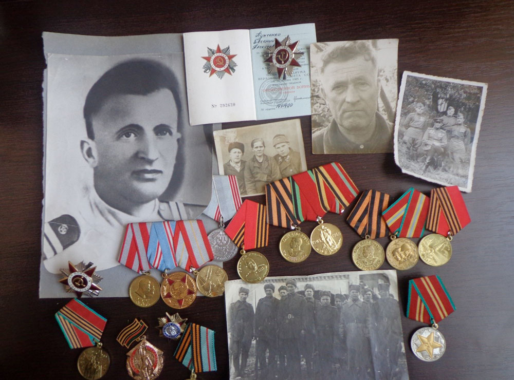 Родным героям Великой Победы посвящается